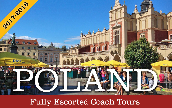 Fully Escorted Coach Tours of Poland